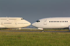 Vliegtuigen Royalty-vrije Stock Fotografie