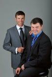 Twee zakenlieden Stock Afbeelding