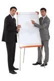 Twee zakenlieden Royalty-vrije Stock Foto