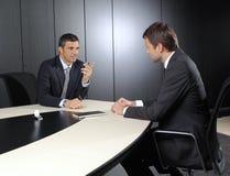 Twee zakenlieden Royalty-vrije Stock Afbeelding