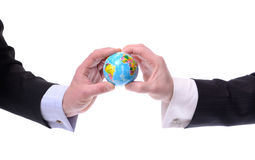 Globale mededeling Stock Foto's