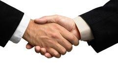 Twee zakenlieden die handen schudden Stock Fotografie
