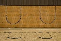 Twee Zetels van de Schommeling royalty-vrije stock afbeeldingen