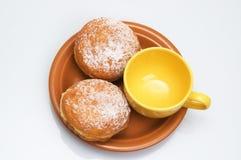 Twee zoete broodjes Stock Afbeelding