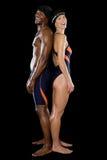 Twee Zwemmers Royalty-vrije Stock Foto