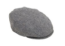 Tweed driving cap Royalty Free Stock Images