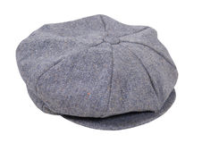 Tweed driving cap Stock Images