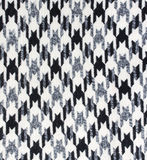 Tweed fabric houndstooth texture Stock Image