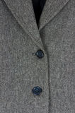 Tweed jacket detail Royalty Free Stock Photos