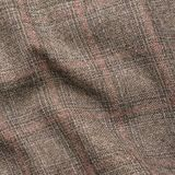 Tweed jacket fragment. Creased tweed striped jacket cloth material fragment as a background texture composition Royalty Free Stock Photos