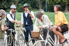 Tweed ride quartet Stock Image