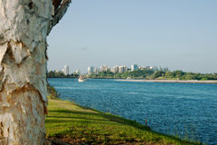 Tweed River, Tweed Heads, Australia. Stock Image
