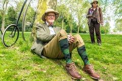 Tweed Run London 2016. Royalty Free Stock Photography
