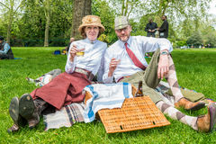 Tweed Run London 2016. Stock Images