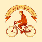 Tweed run symbol Royalty Free Stock Photos