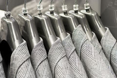Tweed suit jackets Stock Photography