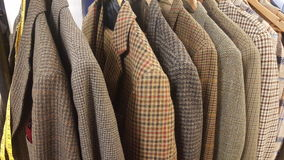 Tweed suits Royalty Free Stock Photography