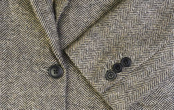 Tweed women jacket with closeup Stock Image