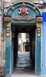 Tweeddale法院的入口在爱丁堡 免版税图库摄影