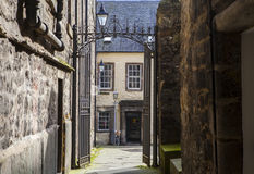 Tweeddale议院在爱丁堡 免版税库存照片