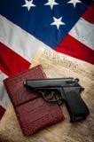 Tweede Amendement stock afbeelding