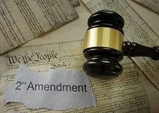 Tweede amendementconcept Stock Foto's