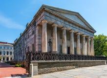 Tweede Bank van de Verenigde Staten in Philadelphia stock foto