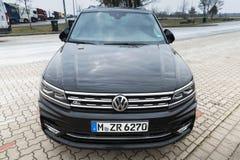 Tweede generatie Volkswagen Tiguan 2017 Royalty-vrije Stock Fotografie
