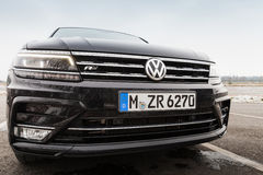 Tweede generatie Volkswagen Tiguan Royalty-vrije Stock Foto