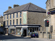 Tweede handboekhandel, Carnforth, Lancashire Stock Afbeeldingen