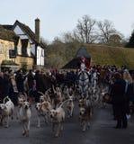 Tweede kerstdagjacht Royalty-vrije Stock Foto's
