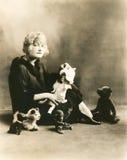 Tweede kinderjaren Royalty-vrije Stock Afbeeldingen