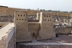 Tweede Tempel. Het kasteel van Anthony stock fotografie
