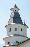 Tweede watchtower van het Klooster van Verrijzenis Nieuwe Jeruzalem stock afbeeldingen