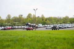 Tweedehandse Voertuigen voor Verkoop in PA - Ciocca-de Handel drijven stock afbeelding