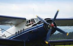 Tweedekker Antonov AN2 Stock Afbeelding
