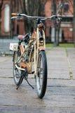 Tweedritt 2017 Här kan du se ett gammalt BMW märke av den motoriska cykeln Royaltyfria Bilder