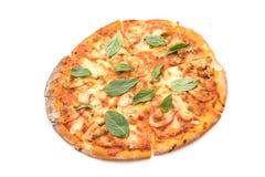 Tweekleppige schelpdierenpizza - Italiaans voedsel Royalty-vrije Stock Foto