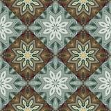 Tweekleurig fabelachtig naadloos patroon U kunt het voor invitatio gebruiken Stock Afbeelding
