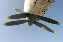 Tweeling propellers Stock Afbeeldingen