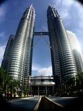 Tweeling toren Royalty-vrije Stock Afbeelding