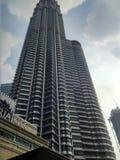 Tweeling toren Royalty-vrije Stock Foto's