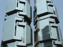 Tweeling Torens Stock Foto's