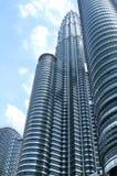Tweeling Torens in Kuala Lumpur Royalty-vrije Stock Afbeelding