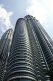 Tweeling Torens in Kuala Lumpur Royalty-vrije Stock Afbeeldingen