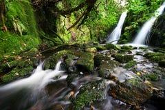 Tweeling Waterval royalty-vrije stock afbeeldingen