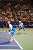 Tweelingbroers Robert Bryan en Michael Bryan Stock Foto