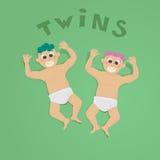 Tweelingen Royalty-vrije Stock Foto