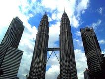 Tweelingtorens, Maleisië Royalty-vrije Stock Foto's