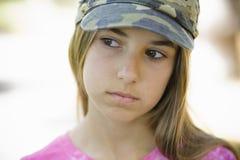 Tween del ritratto della ragazza Immagini Stock Libere da Diritti